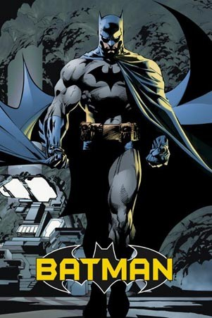 lgfp2143+batman-marvel-comics-poster